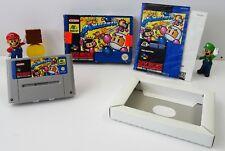 Super Nintendo SNES Spiel - Super Bomberman + Anleitung + OVP - CIB