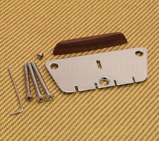 BB-3810-010 Chrome Danelectro Bass Bridge for Longhorn w/ Rosewood Saddle