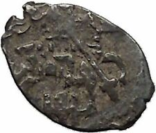 1547 Ivan IV the Terrible Tzar King of Russia Silver Wire HorseKopek Coin i45321