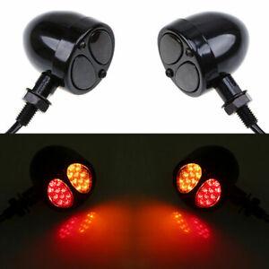 LED Turn Signal Light Running Brake Lamp For Harley Dyna Sportster Motorcycle