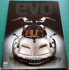 Evo Magazine 154 - Pagani Zonda R