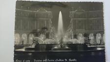 Old post card Postcard - Roma -Fontana Dell'Esedra    B&W 1940's