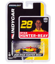 DALLARA INDYCAR #28 HUNTER-REAY DHL ANDRETTI AUTOSPORT 1/64 CAR GREENLIGHT 10864