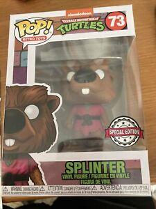 Funko Pop! Splinter 73 Teenage Mutant Ninja Turtles Pop! Retro Toys
