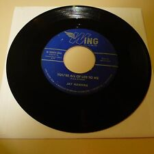 "R&B 45 RPM RECORD - ""SCREAMING"" JAY HAWKINS - WING 90005"
