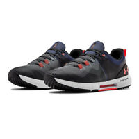 Under Armour Mens HOVR Rise Training Gym Fitness Shoes Trainers Sneakers Grey