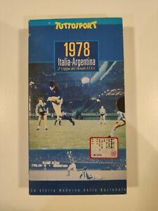 1978 ITALIA - ARGENTINA - VHS TUTTOSPORT