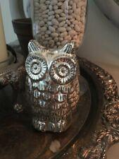 Mercury Glass Owl