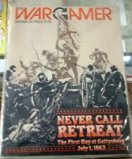 COMMAND MAGAZINE with GAME Issue 25 NEVER CALL RETREAt GETTYSBURG-New/UNPUNCHED