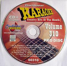 Chartbuster Karaoke - CB60310 CDG  June 2003