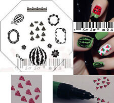 Nail Art Stamp Stamping Image Template Plate QA Series*** QA50 NEW ***