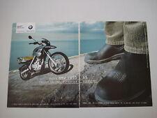 advertising Pubblicità 2000 MOTO BMW F650 F 650 GS