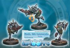 Infinity - PanOceania: Akalis, Sikh Commandos (Hacker) 280220