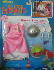 Tyco The Little Mermaid Dinner at Prince Eric's Palace Disney Accessory Set Doll