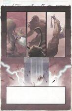 Loki #4 p.22 Thor Kills Loki End Page! 2004 Esad Ribic