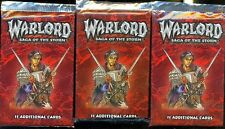 3  BOOSTERS WARLORD SAGA OF THE STORM BASE