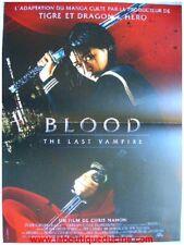 BLOOD THE LAST VAMPIRE Affiche Cinéma / Movie Poster