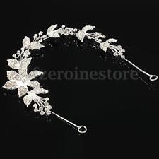 Fashion Diamante Crystal Tiara Hair Band Wedding Bridal Rhinestone Headband Prom