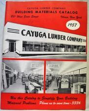 Cayuga Lumber Company Building Materials Sales Catalog 1957 Vintage Houses