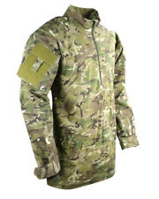 BTP GREEN CAMO  RIPSTOP UBACS TOP LONG SLEEVE 2 UTILITY ARM POCKETS  military