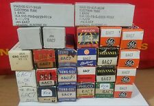 NOS / USED 6AC7, & Military Various Brand Vacuum Tubes All Hickok Tested