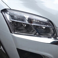 ABS Chrome Front Headlight HeadLamp Lamp Cover For Chevrolet Trax 2014 2015 2016