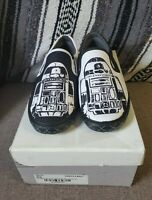 Inkkas Star Wars Collection Slip On Shoes R2D2 Sz 8 Mens NEW Lucasfilm R2 D2