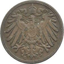1897G  Germany 1 Pfennig- scarce date