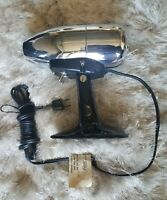 Vintage MCM Oster Airjet Chrome Hair Dryer with Original Box and Paper