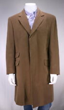Brown Coats & Jackets Overcoat Cotton Outer Shell for Men