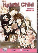 Hybrid Child by Shungiki Nakamura, Yaoi Manga/Graphic Novel in English! RARE!