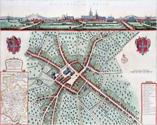 Reproduction plan ancien - Bailleul vers 1649