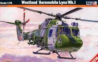 WESTLAND LYNX AH MK.1 (BRITISH ARMY AIR CORPS MARKINGS)#D01 1/72 MISTERCRAFT