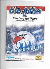 DEL Programm: ADLER MANNHEIM - NÜRNBERG ICE TIGERS, 17.01.1999, Eishockey 98/99