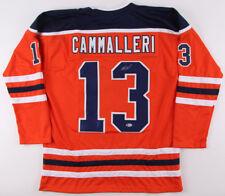 Michael Cammalleri Signed Oilers Jersey (Beckett COA) Edmonton Left Winger