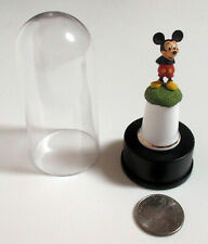 Disney Mickey Mouse Porcelain Thimble & Domed Stand - Msrp $24