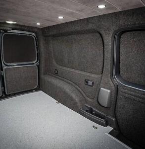 Camper Van Lining Super 4 Way Stretch Easy Fit Carpet Kit Anthracite Dark Grey