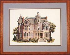 Debbie Patrick CHARLES HOLBROOK MANSION San Francisco, CA Cross Stitch Leaflet
