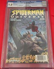 Spider-Man'S Tangled Web #5 2001 Cgc 9.8 Movie/Newsstand Variant/Universe