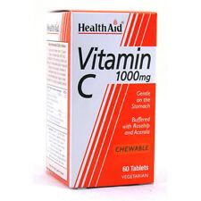 Health Aid Vitamin C 1000mg CHEWABLE 60 Tablets