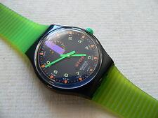 1992 Swatch watch Jess' Rush Stop-Watch SSB100