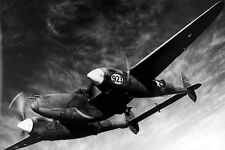 New 5x7 Photo: Lockheed P-38 Lightning Airplane Aircraft During World War II