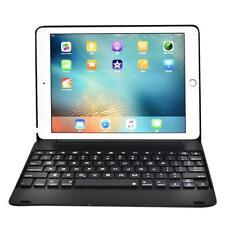Aluminum Bluetooth Wireless Keyboard Cover Case For iPad Mini Air Pro 9.7 & 12.9
