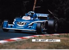 7x5 Photograph Jacques Laffite , Ligier-Matra JS5 , German GP Nurburgring 1976