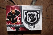 UPPER DECK THE CUP 2008 09 KYLE TURRIS MIKKEL BOEDKER DUAL NHL SHIELD CARD
