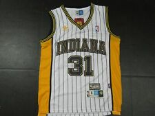 New Reggie Miller #31 Indiana Pacers Throwback HWC Swingman Jersey White
