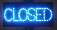 Animated LED NEON Motion Flash Open Business Sign  OPEN / CLOSED TOGGLE 48 X24CM