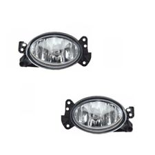 Set of Front Left & Right Fog Lights Fits: Mercedes R230 W164 W204 W211 W463