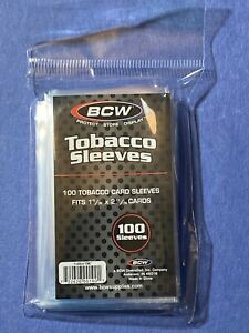 2020 TOPPS T206 (100) BCW Mini Tobacco Size Trading Card Sleeves IN HAND