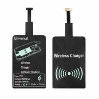 Lightweight QI Wireless Charging Micro USB Port Module Sticker for Android Phone